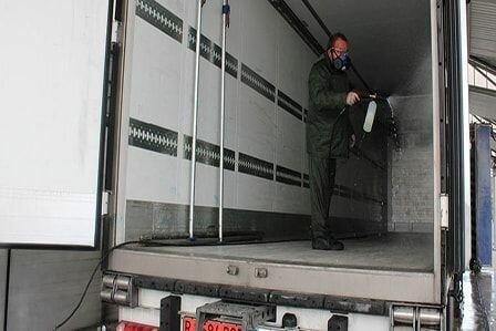 служба дезинфекции грузовых рефрижераторов